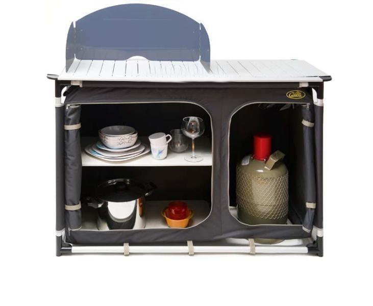 Spülbecken Grau = cuccina xl campingküche mit spülbecken  tuch grau  von camp4