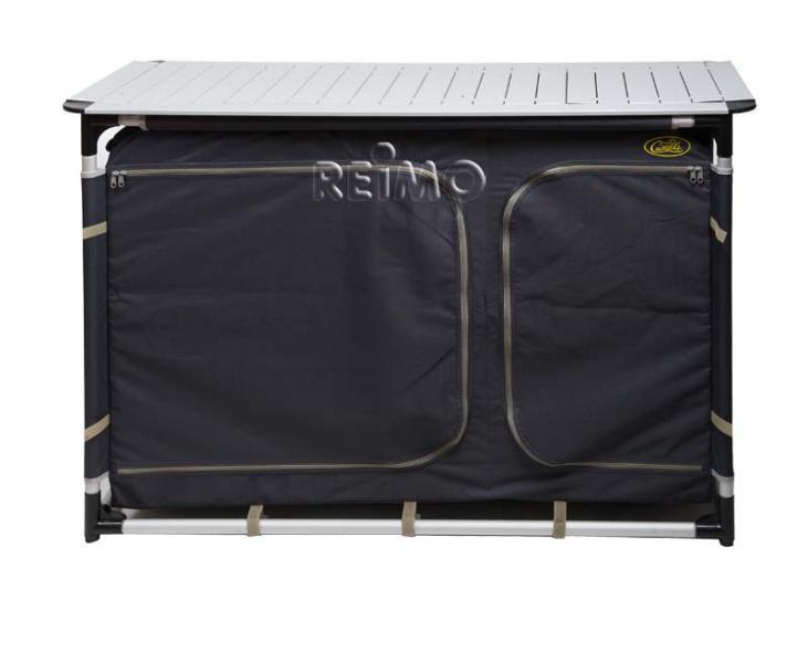 cuccina xl campingk che mit sp lbecken tuch grau von camp4. Black Bedroom Furniture Sets. Home Design Ideas