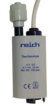 0,5 bar Reich Tauchpumpe 10 Liter