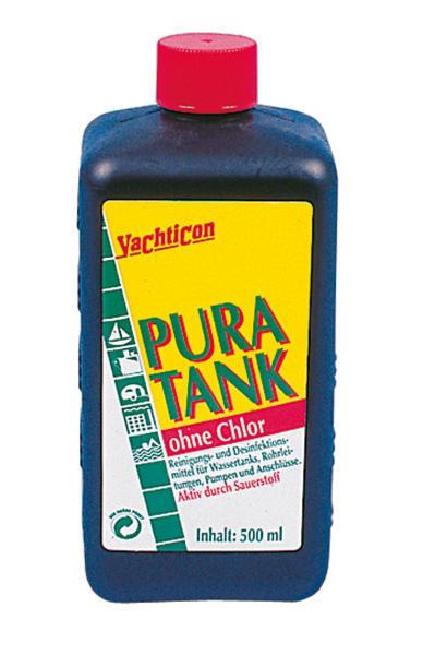 Pura tank 500 ml ohne chlor tankreiniger von yachticon for Gartenpool ohne chlor