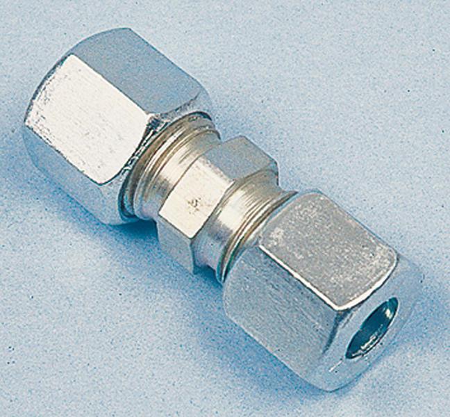 GAS Schneidring Verschraubung gerade 8 mm x 8 mm