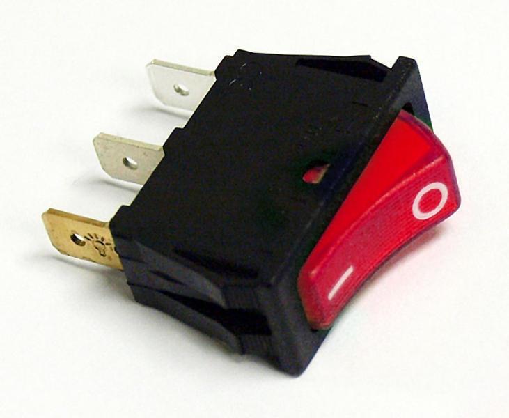 Kühlschrank In Rot : Wippschalter für electrolux kühlschrank er serie rot von